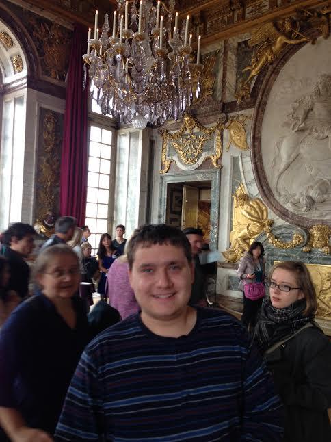 Robert in Palace